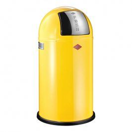 Wesco Odpadkový koš Pushboy 50 l citronový