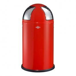 Wesco Odpadkový koš Push two 50 l (2x 25 l) červený