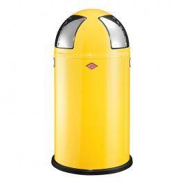 Wesco Odpadkový koš Push two 50 l (2x 25 l) citronový