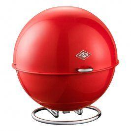 Wesco Dóza na ovoce/keksy Superball červená