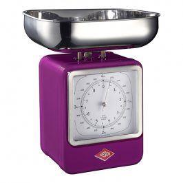 Wesco Kuchyňská váha s hodinami ostružinová