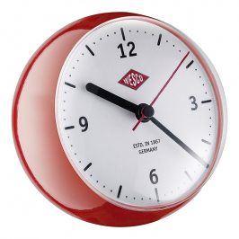Wesco Stolní hodiny mini červené