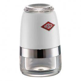 Wesco Mlýnek na sůl nebo pepř malý bílý