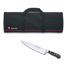 WÜSTHOF Kuchařský nůž 23 cm Classic + kuchařská taška na 12 kusů