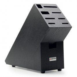 WÜSTHOF Blok na nože dřevěný na 9 kusů černý