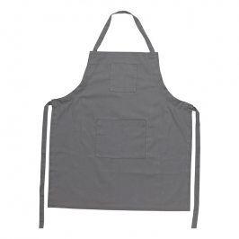 ZONE Kuchyňská zástěra bavlněná grey
