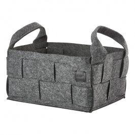 ZONE Úložný košík velký dark grey HIDE