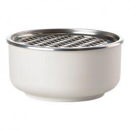 ZONE Dóza s hrubým struhadlem 1 l warm grey PEILI