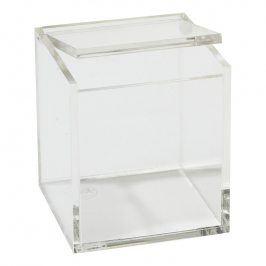 ZONE Úložný box 8 × 8 cm clear
