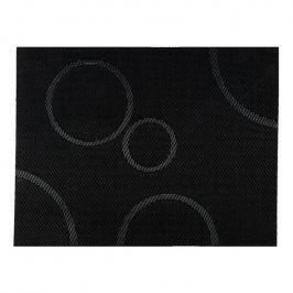 ZONE Prostírání s kruhy 30 × 40 cm black