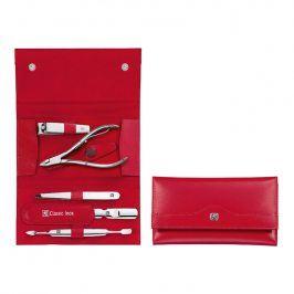 ZWILLING Manikúra 5dílná ZWILLING® Classic Inox červená s kleštěmi
