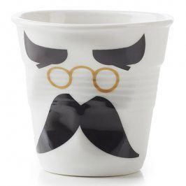 REVOL Kelímek na espresso 8 cl Monsieur Binocle Froissés