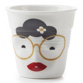 REVOL Kelímek na espresso 8 cl Madame Binocle Froissés