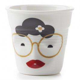 REVOL Kelímek na cappuccino 18 cl Madame Binocle Froissés