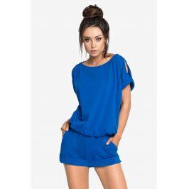 Dámské pyžamo Monika krátké  modrá