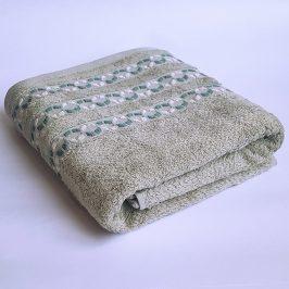 Bambusový ručník Kiara zelený 70x140 cm Osuška