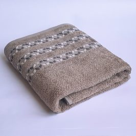Bambusový ručník Kiara šedý 70x140 cm Osuška