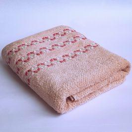 Bambusový ručník Kiara růžový 70x140 cm Osuška