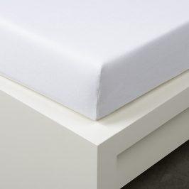 Napínací prostěradlo Tencel bílé 90x200 cm jednolůžko - standard 48% tencel, 4% elastan, polyester