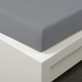 Napínací prostěradlo Tencel šedé 90x200 cm jednolůžko - standard 48% tencel, 4% elastan, polyester