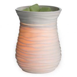 Elektrická aromalampa a ohřívač svíček Harmony Keramika smetanová