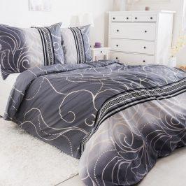 Povlečení Silver 140x200 jednolůžko - standard bavlna