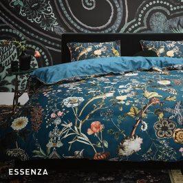 Povlečení Essenza Xess Petrol 220x200 dvojlůžko - standard bavlna