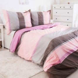 Povlečení Pink Shadow 140x200 jednolůžko - standard bavlna