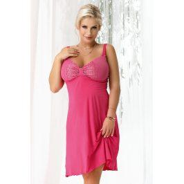Dámská noční košilka Gina Fuchsia  růžová