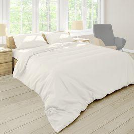 Povlečení Pastel Ecru 140x220 jednolůžko - prodloužené bavlna