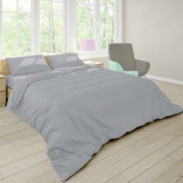 Povlečení Pastel šedé 140x200 jednolůžko - standard bavlna