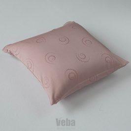 Povlak na polštářek Snail růžový 40x40 cm růžová