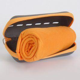 Rychleschnoucí ručníky Pocket Towel oranžové 50x100 cm Ručník