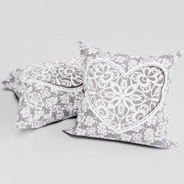 Dekorační polštářek Love 40x40 cm polyester