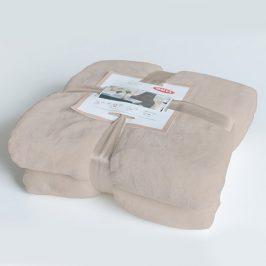 Luxusní deka Astratex béžová 150x200 cm béžová