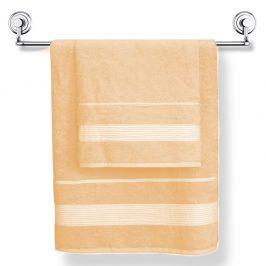 Bambusový ručník Moreno broskvový 50x90 cm Ručník