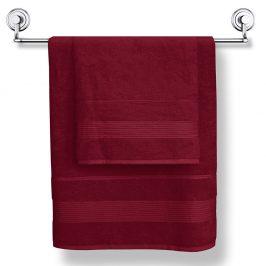 Bambusový ručník Moreno vínový 50x90 cm Ručník