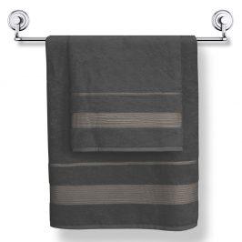 Bambusový ručník Moreno grafitový 50x90 cm Ručník