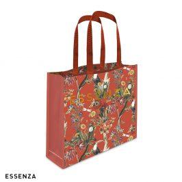 Nákupní taška Essenza Home Airen červená 42x12x35 Nákupní taška