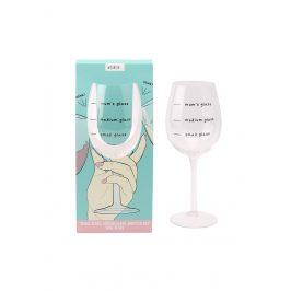 Sklenička na víno Mums glass Objem: 400ml sklenička