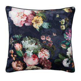 Dekorační  polštářek Essenza Home Fleur Nightblue 50x50 cm modrá