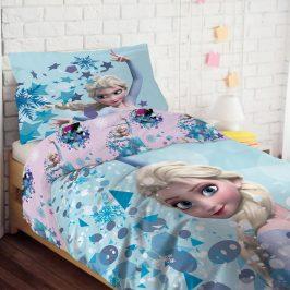 Dívčí povlečení Frozen 140x200 jednolůžko - standard bavlna