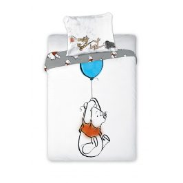Povlečení do dětské postýlky Winnie Set: přikrývka 135x100 cm, polštář 40x60 cm bavlna