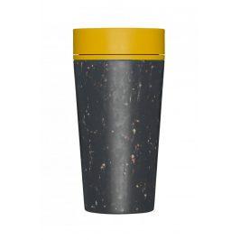 Cestovní hrnek Rcup žlutý 340ml Objem: 340ml Recyklovaný materiál