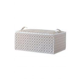 Textilní úložný box Madison 50x70 cm šedá