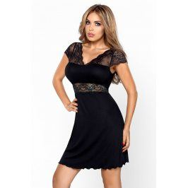 Elegantní košilka Helen Black  černá