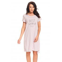 Mateřská, kojicí košilka Best Mom Pink  šedorůžová
