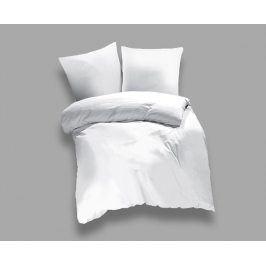 Povlečení UNI bílé 140x200 jednolůžko - standard bavlna