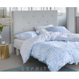 Povlečení Christine modré 140x200 jednolůžko - standard Bavlněný satén
