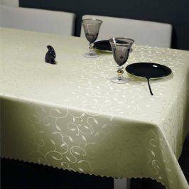 Ubrus Liliana krémový 120x200 cm krémová